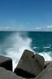 crashing waves Στοκ Φωτογραφίες