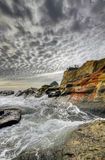 Crashing Waves at Cape Kiwanda Stock Photography