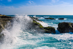 Crashing Waves at Chocolatera Stock Photos