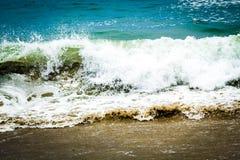 Crashing Waves Royalty Free Stock Photography