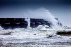Crashing Waves Stock Photo