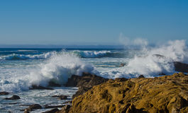 Crashing Waves. Salt Point State Park California royalty free stock photography