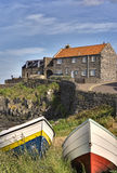Craster Harbour. On the Northumberland coast, North East England Royalty Free Stock Photos