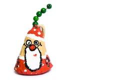 Crasy Weihnachtsmann stockfoto