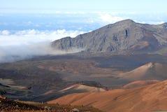 Cratère 10 de Haleakala Photos libres de droits