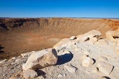 Cratère Arizona de météore Photo libre de droits