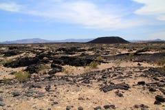Cratère d'Amboy Image stock