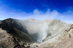 Cratère de Bromo Image libre de droits