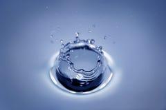 Cratère de l'eau Photo libre de droits
