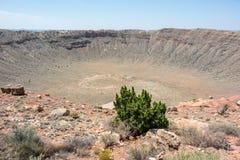 Cratère de météore Photos stock