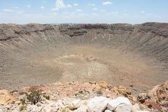 Cratère de météore Photographie stock libre de droits