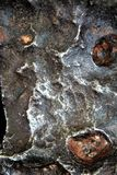 Cratère de météore Photo libre de droits