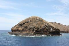 Cratère de Molokini Photographie stock libre de droits