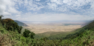 Cratère de Ngorongoro Photographie stock