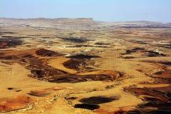 Cratère de Ramon Photo libre de droits