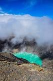 Cratère de Volcan Santa Ana, parc national de Cerro Verde, EL Salvad Photos stock