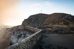Cratère du volcan de Mombacho près de Grenade, Nicaragua images stock