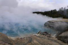 Cratère excelsior de geyser photographie stock libre de droits
