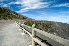 Cratère volcanique Photo libre de droits