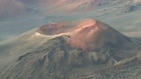Cratère Volcano Time Lapse 3 de parc national de Haleakala de 4 clips vidéos
