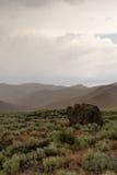 Cratères du monument Etats-Unis de Nationa de lune Images stock