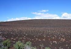 Cratères du monument national de lune en Idaho photos stock
