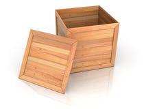 Crate. 3d Very beautiful three-dimensional illustration stock illustration