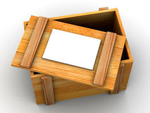 Crate. 3d Stock Images