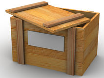 Crate. Royalty Free Stock Images