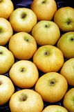 Crate of apples Royalty Free Stock Images