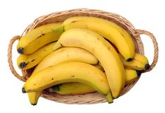 A crate of banana Royalty Free Stock Image