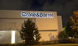 Crate & Barrel fotos de stock royalty free