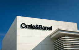 Crate & Barrel Store Exterior Royalty Free Stock Images