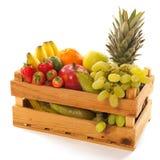 Crate fresh fruit Royalty Free Stock Image