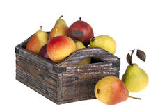 Crate of pears Royalty Free Stock Photography