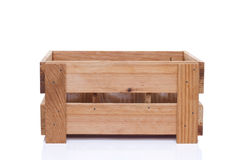 Crate with utensils Royalty Free Stock Photography