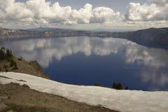 Crater湖国家公园 库存图片