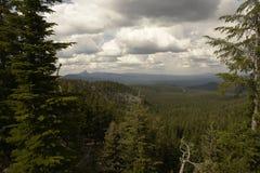 Crater湖国家公园 图库摄影