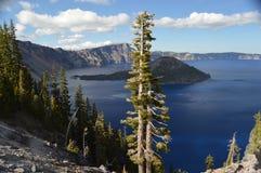 Crater湖国家公园 免版税图库摄影