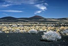 Crater in Argentina,Argentina. Crater in Payunia Provincia Park, Argentina Stock Photos