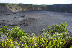 Crater bottom Stock Images