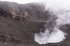Crater of bromo. Mountain  indonesia Royalty Free Stock Images