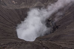 Crater of bromo. Mountain indonesia Stock Photo