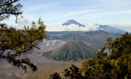 Crater Bromo Stock Photography