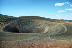 Crater of Cinder Cone, Lassen Volcanic National Park Stock Images