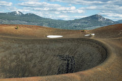 Crater of Cinder Cone, Lassen Volcanic National Park Stock Photos