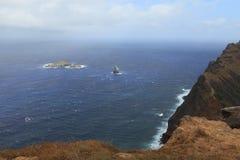 Crater Edge Rano Kau Easter Island Royalty Free Stock Image