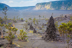 Crater floor Stock Photography
