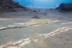 Crater floor Royalty Free Stock Photography