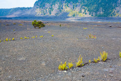 Crater floor Royalty Free Stock Images